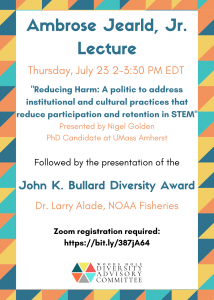 Jearld Lecture Flyer